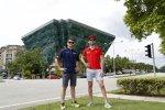Nicolas Prost und Jaime Alguersuari