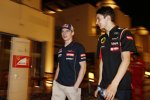 Daniil Kwjat (Toro Rosso) und Esteban Ocon
