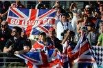 Fans von Lewis Hamilton (Mercedes)