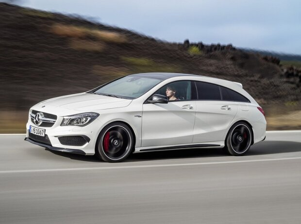 mercedes benz cla shooting brake sch ner laden. Black Bedroom Furniture Sets. Home Design Ideas