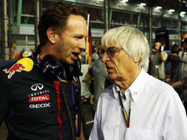 Christian Horner, Bernie Ecclestone