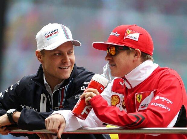 Valtteri Bottas, Kimi Räikkönen