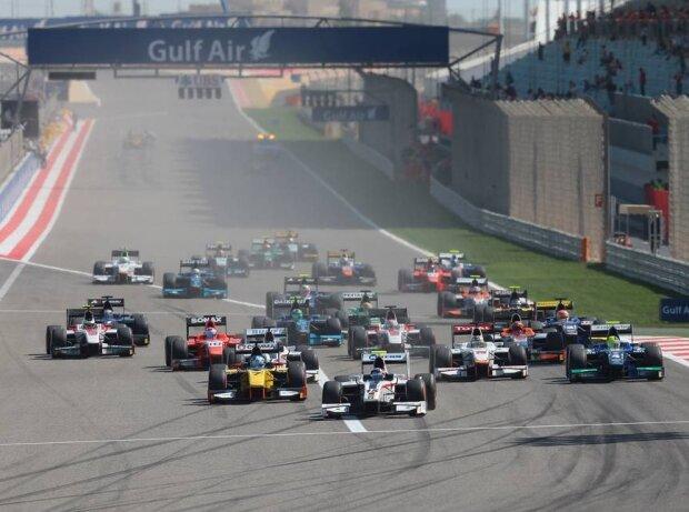 Bahrain, GP2, Start