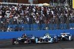 Oriol Servia (Dragon), Jarno Trulli (Trulli) und Matthew Brabham (Andretti)