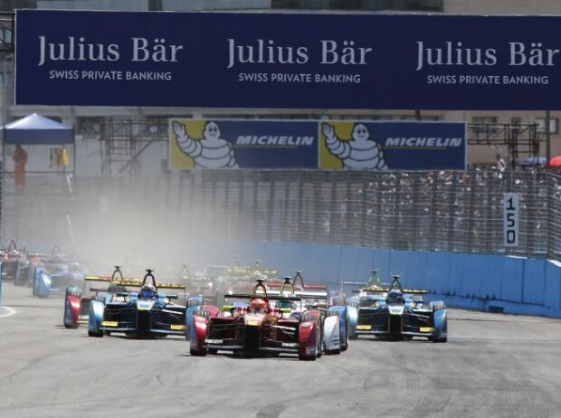 Start zum ePrix in Punta del Este
