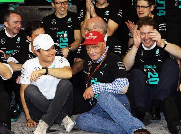 Nico Rosberg, Niki Lauda