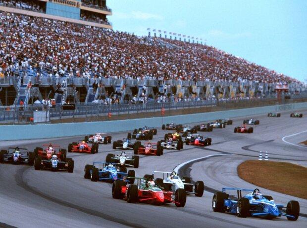 Start zum CART-Rennen in Homestead 1999