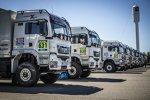 Service-Trucks des X-raid-Teams