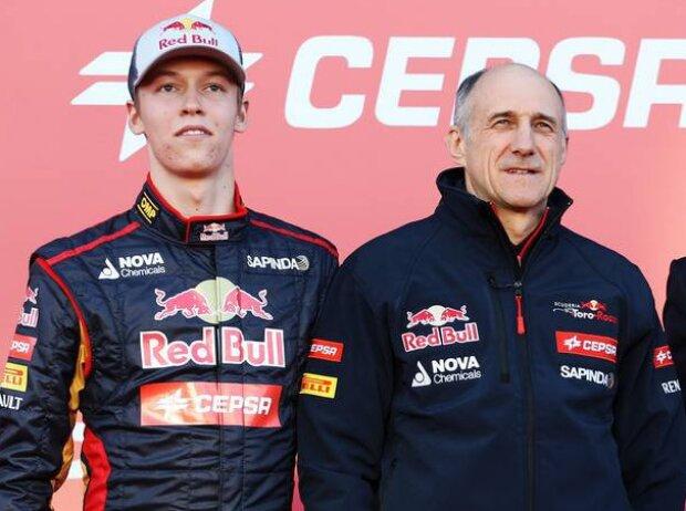 Daniil Kwjat, Franz Tost, Daniel Ricciardo