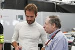 Jean Todt und Jean-Eric Vergne (Andretti)