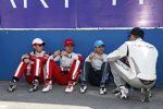 Ho-Pin Tung (China), Nelson Piquet Jun. (China), Nicolas Prost (e.dams) und Stephane Sarrazin (Venturi)