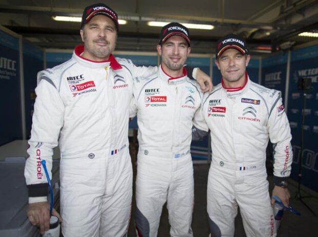 Sebastien Loeb, Jose-Maria Lopez, Yvan Muller