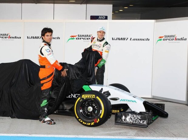 Sergio Perez, Nico Hülkenberg