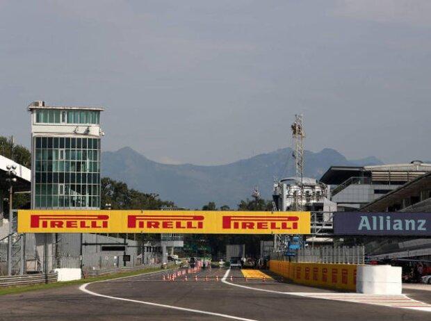 Start und Ziel in Monza