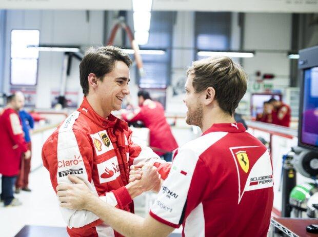 Esteban Gutierrez, Sebastian Vettel