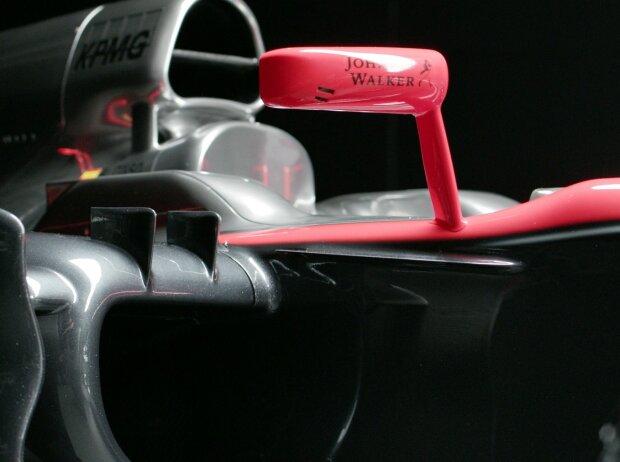 Doppelter Airbox-Lufteinlass des McLaren-Honda MP4-30