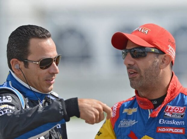 Helio Castroneves, Tony Kanaan