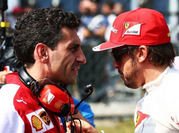 Andrea Stella, Fernando Alonso