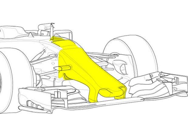 Nase des Red Bull RB11