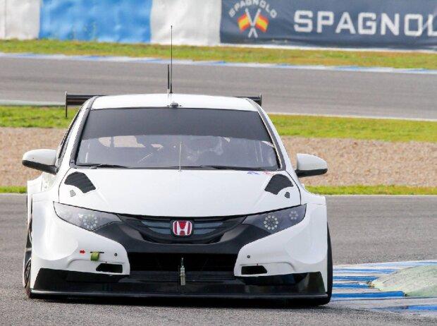 Honda Civic Testfahrten WTCC