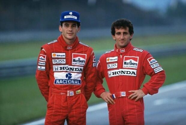 Alain Prost McLaren McLaren Honda F1 ~Alain Prost ~
