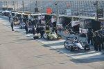 Gleich geht es los: Team Penske in der Boxengasse im Nola Motorsports Park