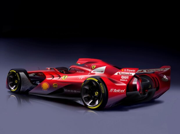 Zurück in die Zukunft - sehen so Formel-1-Boliden anno 2020 aus?