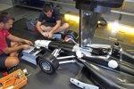 Entwicklung des Aero-Kits im Windkanal von Chevrolet