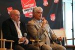 IndyCar-Rennchef Derrick Walker und IndyCar-Chef Mark Miles