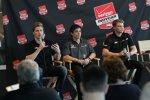IndyCars Next-Generation: Josef Newgarden (CFH), Gabby Chaves (Herta) und Sage Karam (Ganassi)
