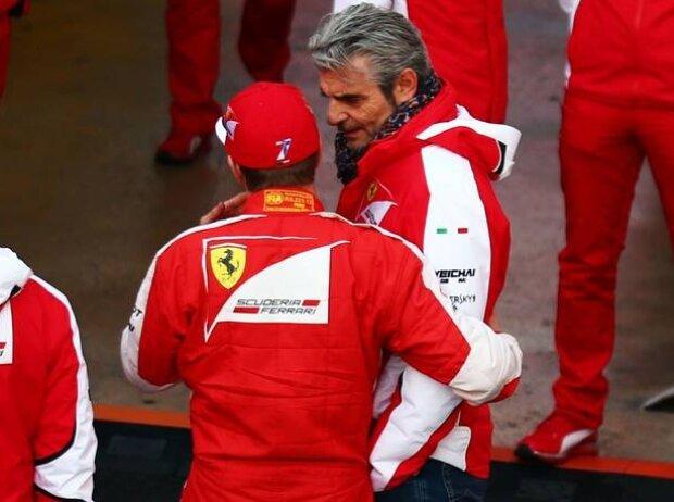 Kimi Räikkönen, Maurizio Arrivabene