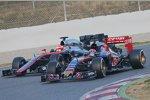 Jenson Button (McLaren) und Jos Verstappen