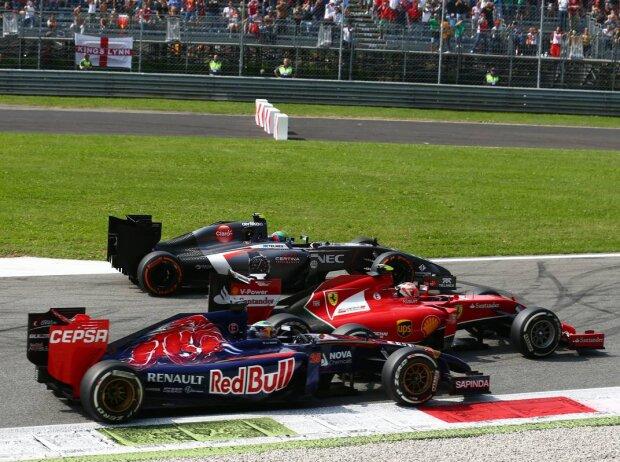 Jean-Eric Vergne, Esteban Gutierrez, Kimi Räikkönen