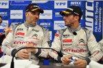 Yvan Muller (Citroen) und Sebastien Loeb (Citroen)
