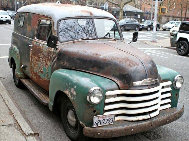 Chevrolet Panel Van (1948)