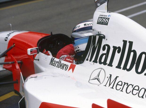 Mika Häkkinen in Adelaide 1995