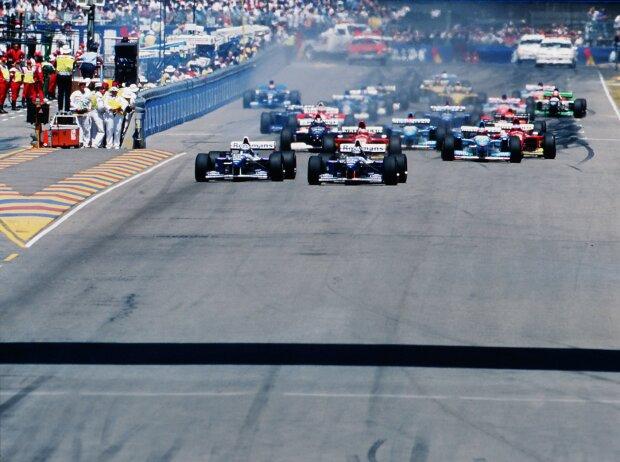 Start in Adelaide 1995