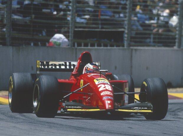Gerhard Berger in Adelaide 1995
