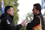 Eric Boullier (McLaren) und Federico Gastaldi (Lotus)