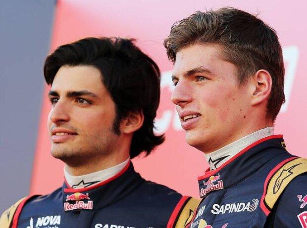 Max Verstappen, Carlos Sainz jun.