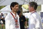 Mark Webber (Porsche) und David Coulthard