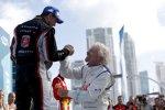 Scott Speed (Andretti) und Richard Branson