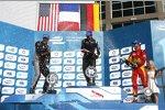 Scott Speed (Andretti), Nicolas Prost (e.dams) und Daniel Abt (Abt)