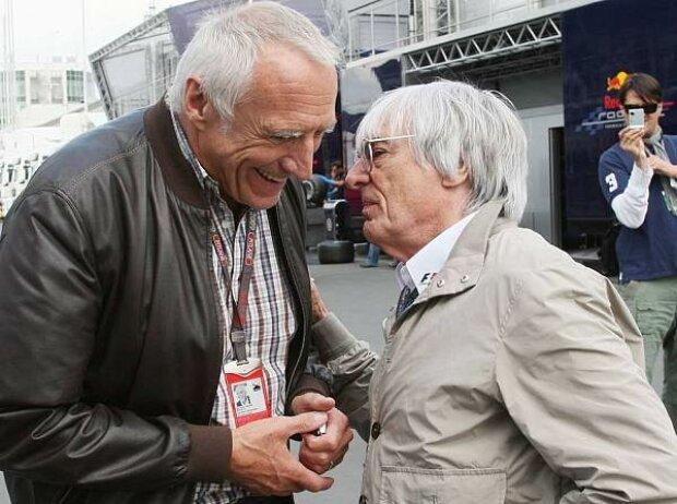 Bernie Ecclestone (Formel-1-Chef), Dietrich Mateschitz (Red Bull-Boss)