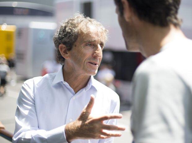 Alain Prost, Mark Webber