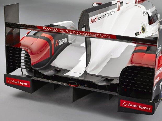 Audi R18 Heck