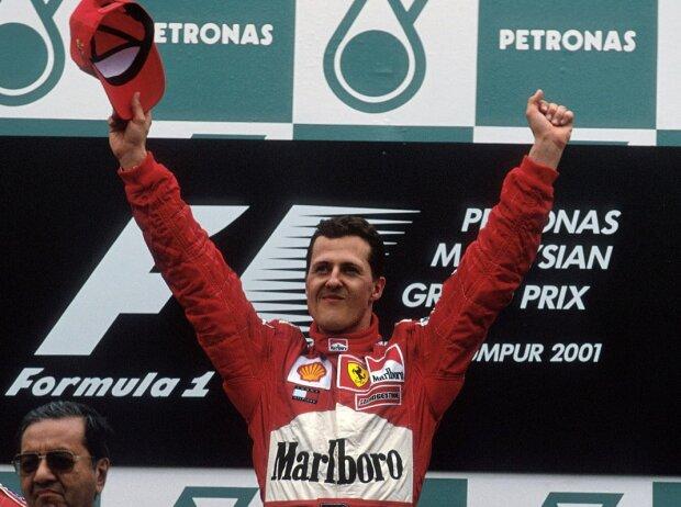 Michael Schumacher, Rubens Barrichello, David Coulthard