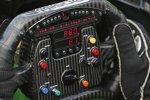 Blick auf das aktuelle IndyCar-Lenkrad