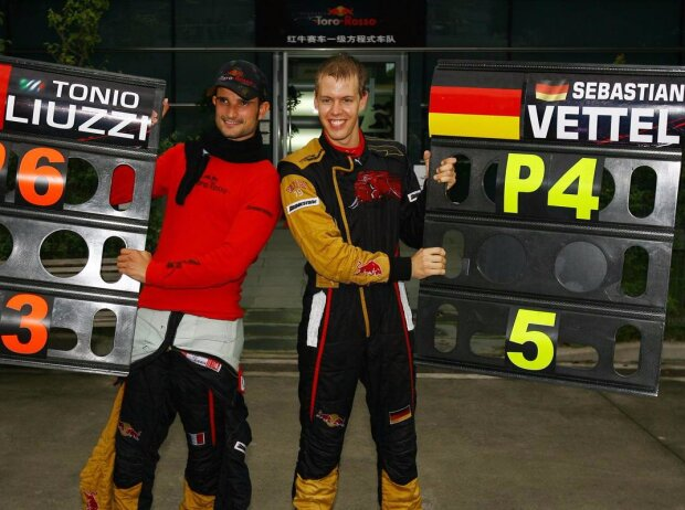 Sebastian Vettel, Vitantonio Liuzzi