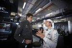 Nico Rosberg (Mercedes) und Toto Wolff